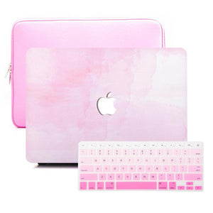 MacBook Case Sleeve Package - Pink Mist - Slick Case