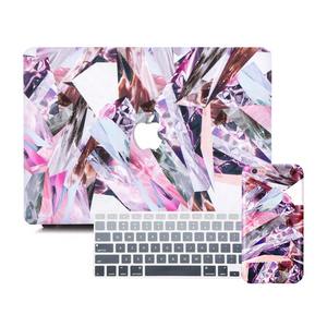 Macbook Discount Package [A1370/A1465] MacBook Air 11' / iPhone 6/6s / Gradient Keypad - Grey MacBook & iPhone Case Package - Refraction Marble