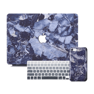 Macbook Discount Package [A1370/A1465] MacBook Air 11' / iPhone 6/6s / Gradient Keypad - Grey MacBook & iPhone Case Package - Shattered Marble