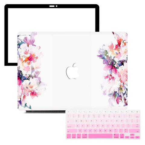 MacBook Protective Package - Divine Floral