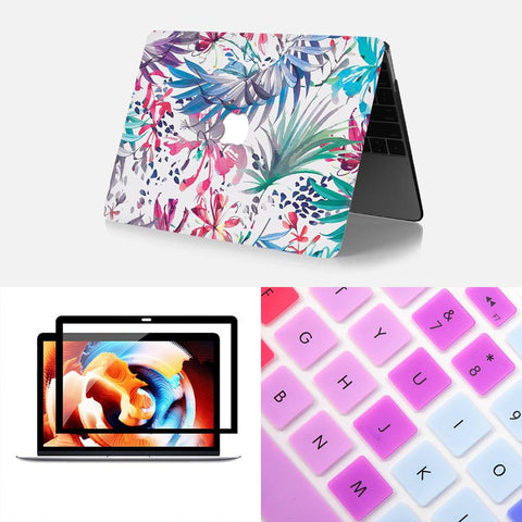 MacBook Protective Package - Rainbow Terrace
