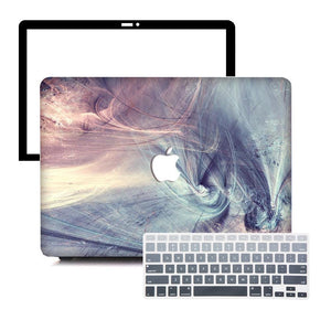 MacBook Case Protective Screen Package - Time Warp - Slick Case