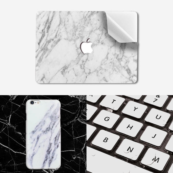 Premium Decal Package - White Marble