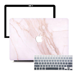 Macbook Protective Package [A1370/A1465] MacBook Air 11' / Gradient Keypad - Grey MacBook Case Protective Screen Package - Taupe Marble