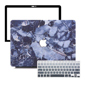 MacBook Case Protective Screen Package - Shattered Marble - Slick Case