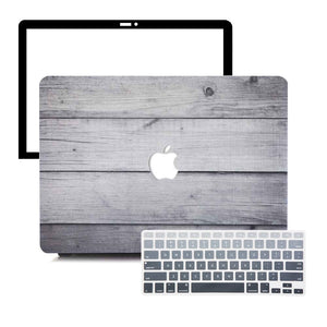 MacBook Case Protective Screen Package - Timber - Slick Case