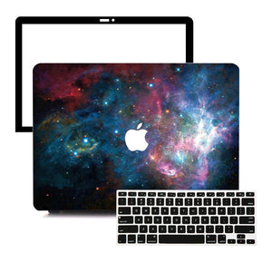 MacBook Case Protective Screen Package - Solar System - Slick Case