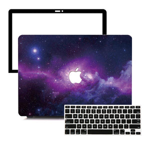 MacBook Case Protective Screen Package - Intergalactic Space - Slick Case