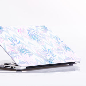 MacBook Case - Zig Zag Gradient Palm Leaves