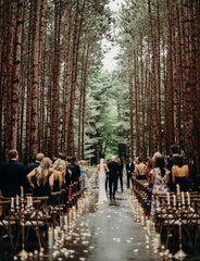 Sustainable wedding outdoors ender legard