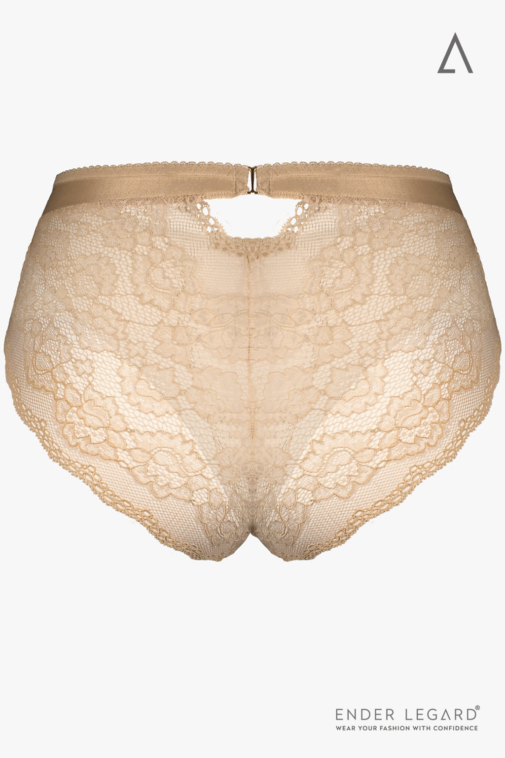 Lace panties briefs for beige bodysuit shaper | ENDER LEGARD