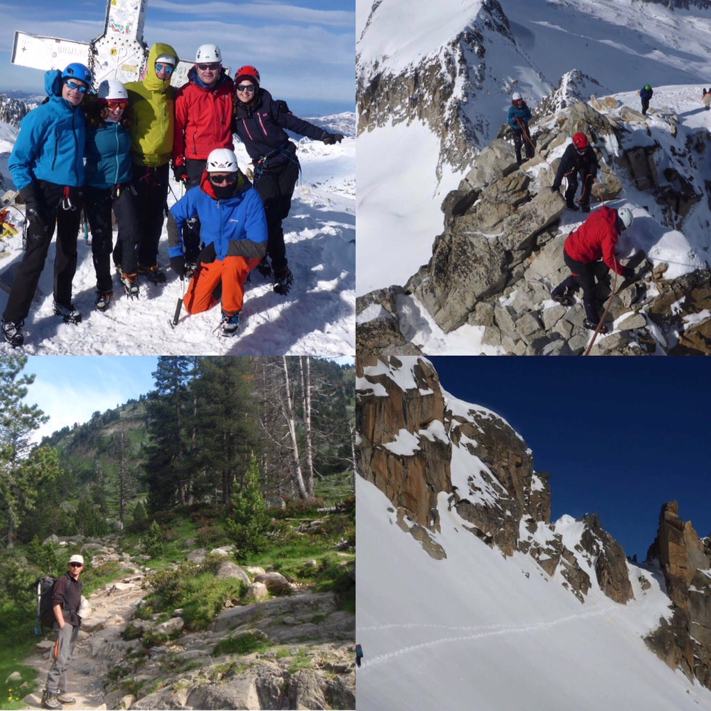 Aneto, Pyrenees - 13th to 17th June 2019