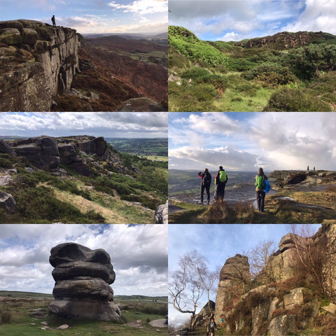 Peak District (Baslow, Curbar and White Edge) hike - Sunday 2nd August