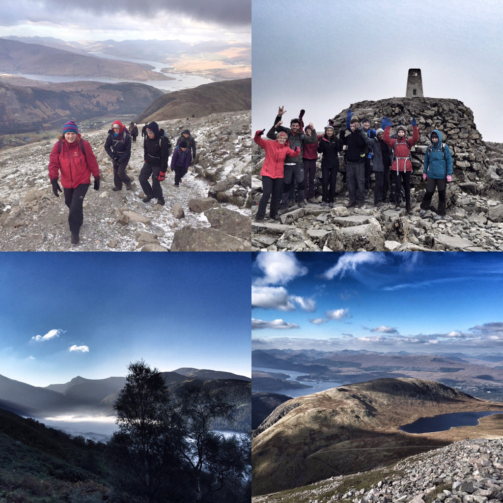 Ben Nevis trip - 5/6/7th October