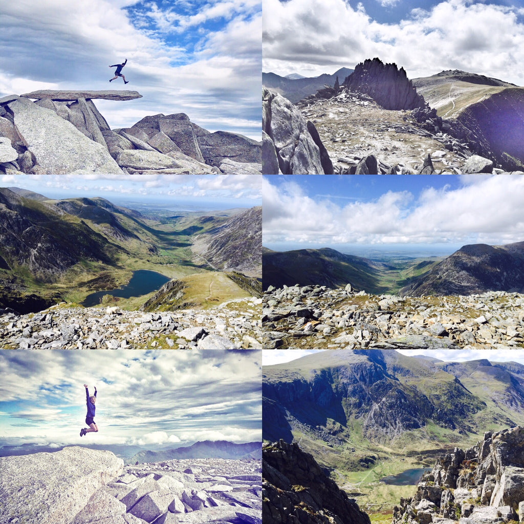 Cantilever Stone & Glyder Fach day - Sunday 2nd September