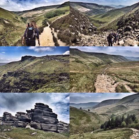 Edale, Kinder & Jacob's Ladder (Peak District) hike - Saturday 18th July