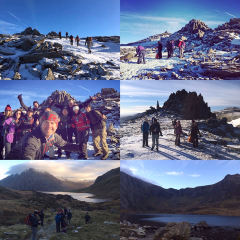 The Glyders range (Snowdonia) weekend - 8/9th February