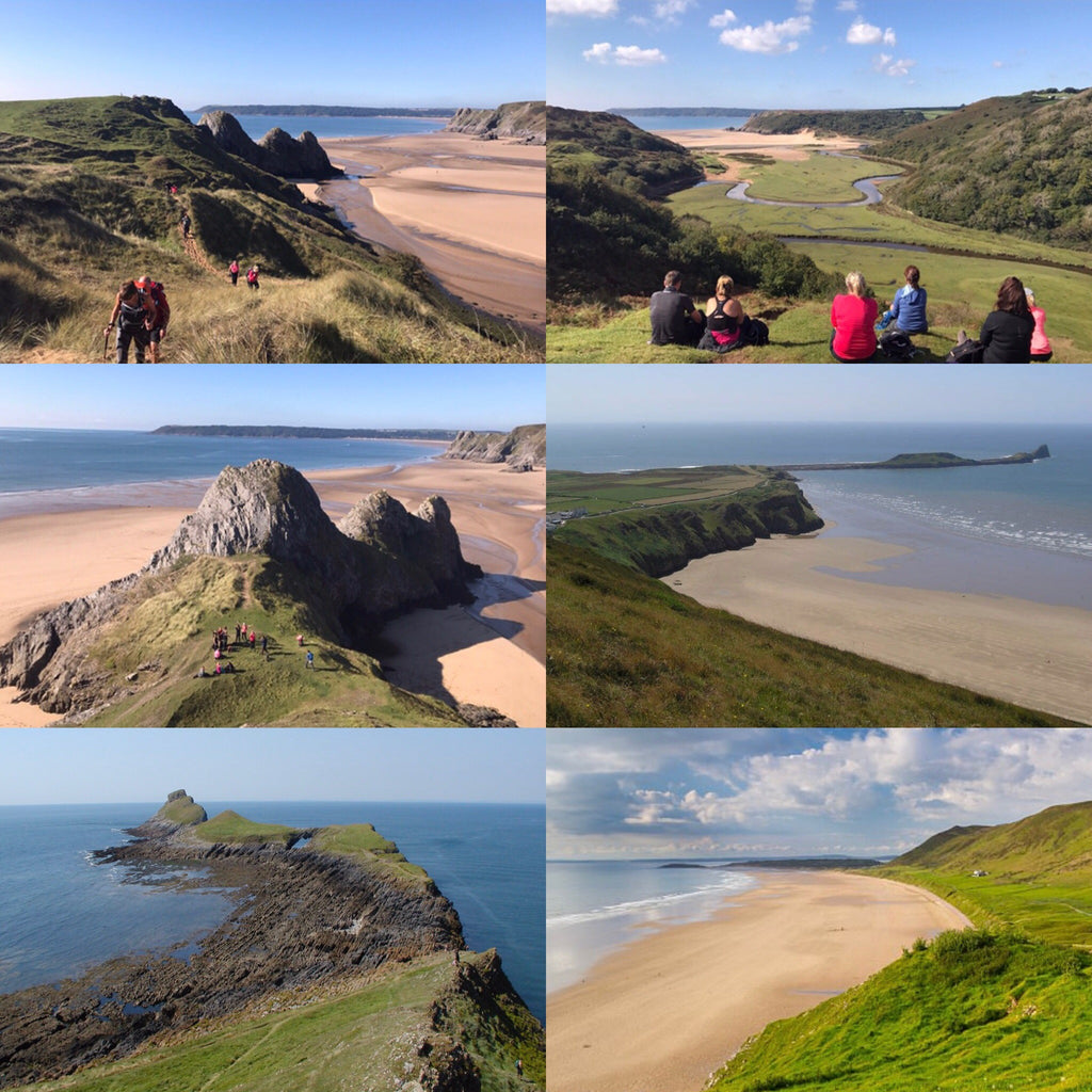 Gower Coast (South Wales) hiking weekend - 8/9th August