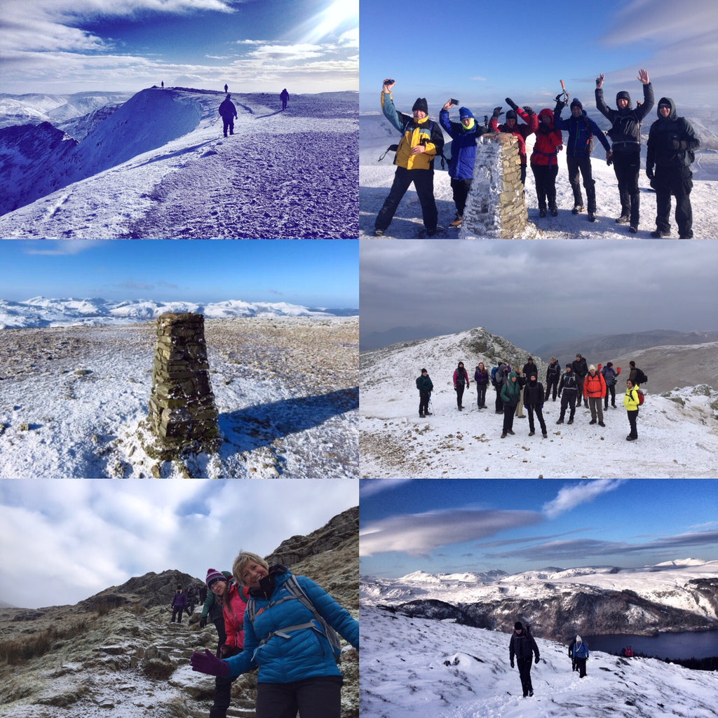 Helvellyn and Lake District hiking weekend - January 9/10th