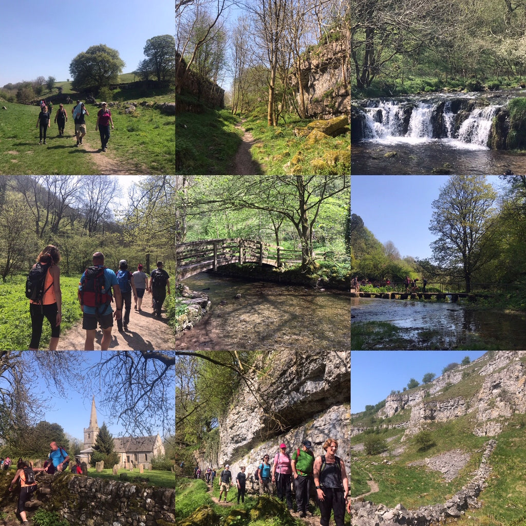 Lathkill Dale & Monyash (Peak District) hike - Saturday 15th May