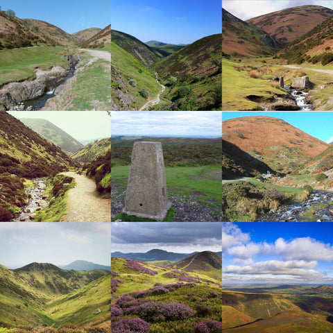 The Long Mynd & Carding Mill Valley hike (Shropshire) - Saturday 10th April