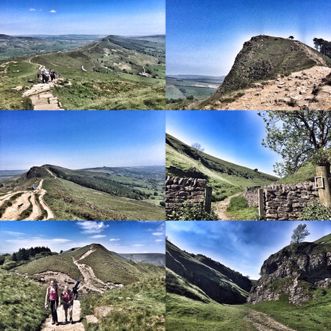Mam Tor, Castleton & Cave Dale (Peak District) hike - 2nd April (Good Friday)