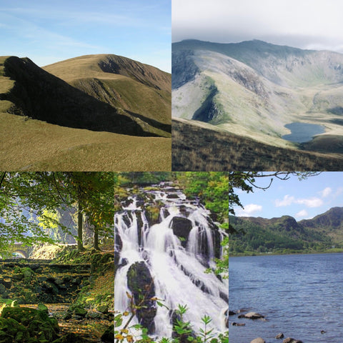 Moel Eilio, Gwydyr Forest & Swallow Falls trip - 23rd/24th September