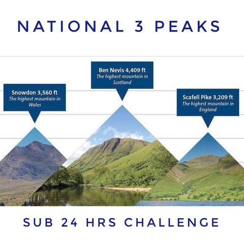 National 3 Peaks (sub 24hrs) challenge - May 12-14th
