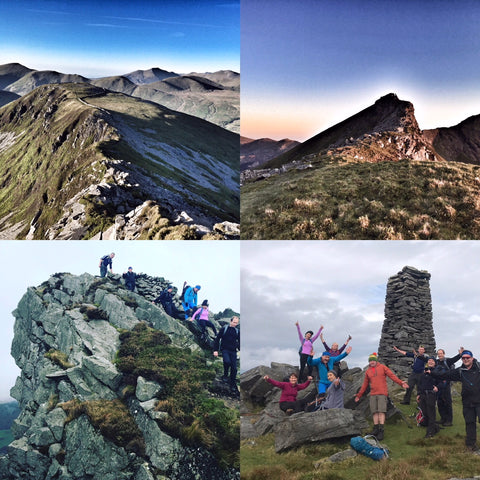 Nantlle Ridge & Y Garn day - Monday 1st October