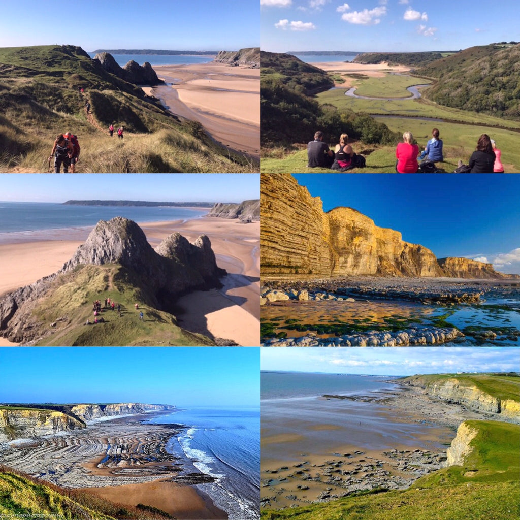 Sensational South Wales Coast hiking weekend - 18/19th September