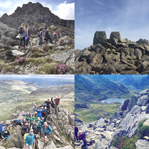 Tryfan hike & scramble - 30th July