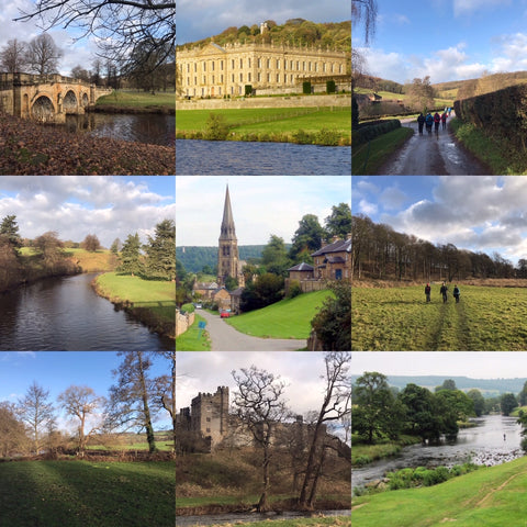 Bakewell, Chatsworth & River Wye (Peak District) hike - Sunday 11th April