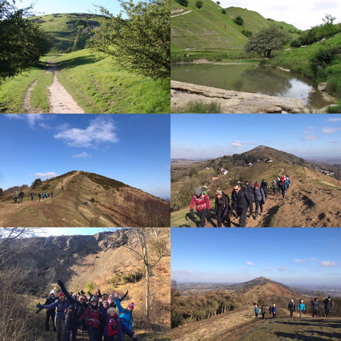 Malvern Hills & Cotswolds hiking weekend - 9/10th March