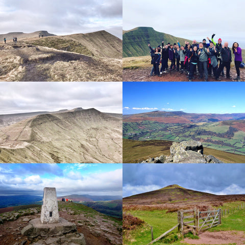 Brecon Beacons - Sugarloaf & Fan y Big mountains - 26/27th May (Bank Holiday)