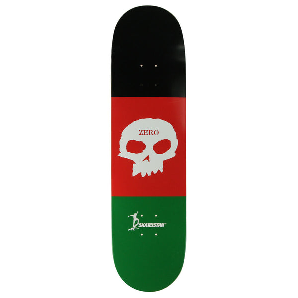 Zero Skateistan Single Skull Deck