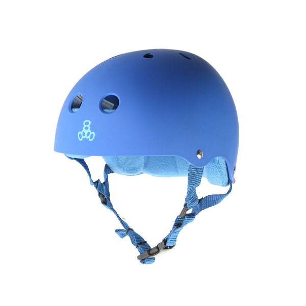 Triple 8 Brainsaver Helmet - Royal Blue (Rubber)