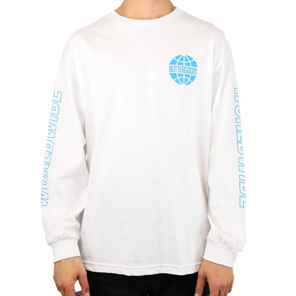 Butter Worldwide Logo LST White