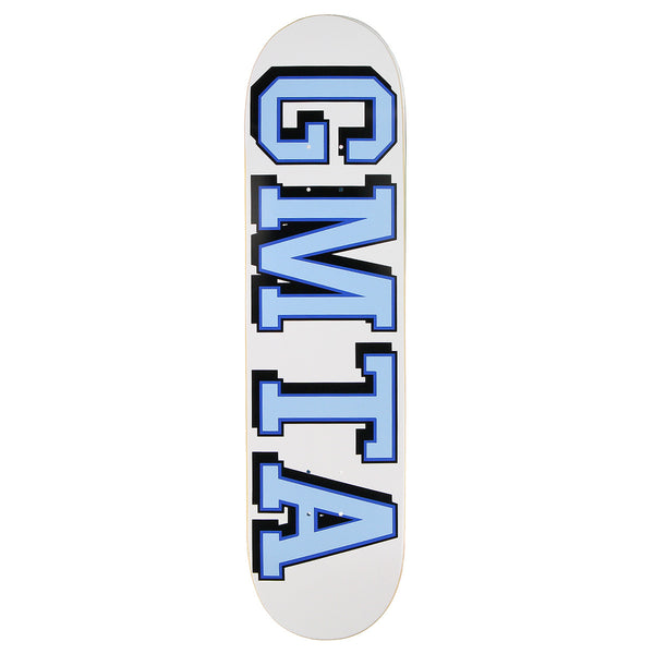 GMTA College Deck - White/ Blue