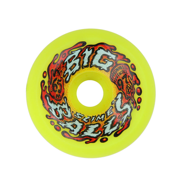 Santa Cruz SlimeballBig Balls Yellow - 65mm
