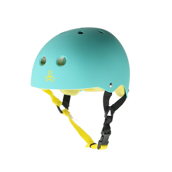 Triple 8 Brainsaver Helmet - Baja Teal SS (Rubber)