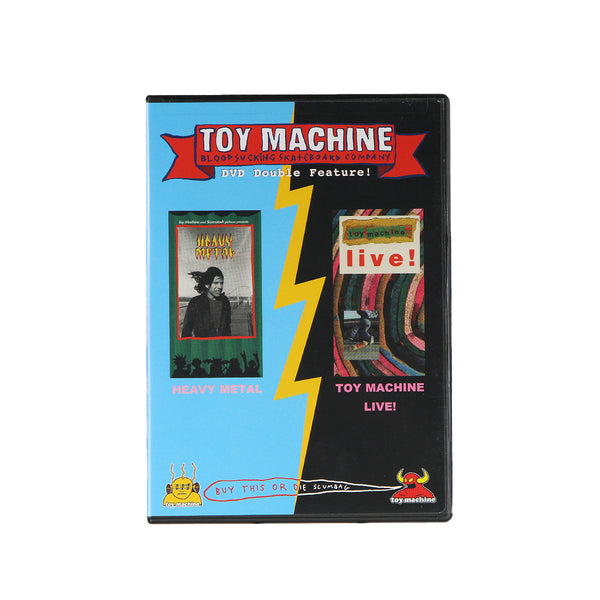 Toy Machine - Live! & Heavy Metal DVD