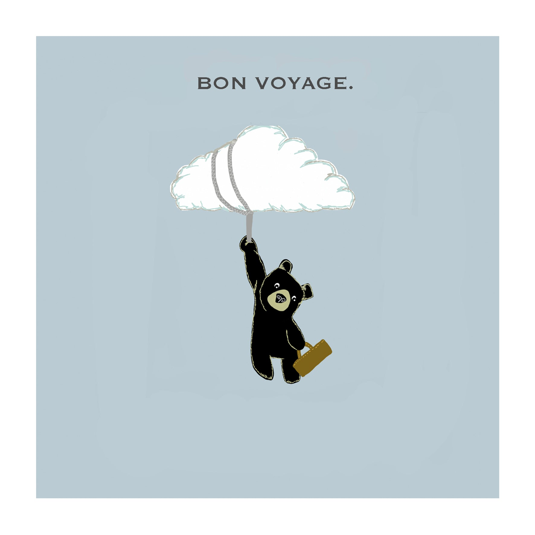 Bon voyage greetings card the grumble co kristyandbryce Image collections