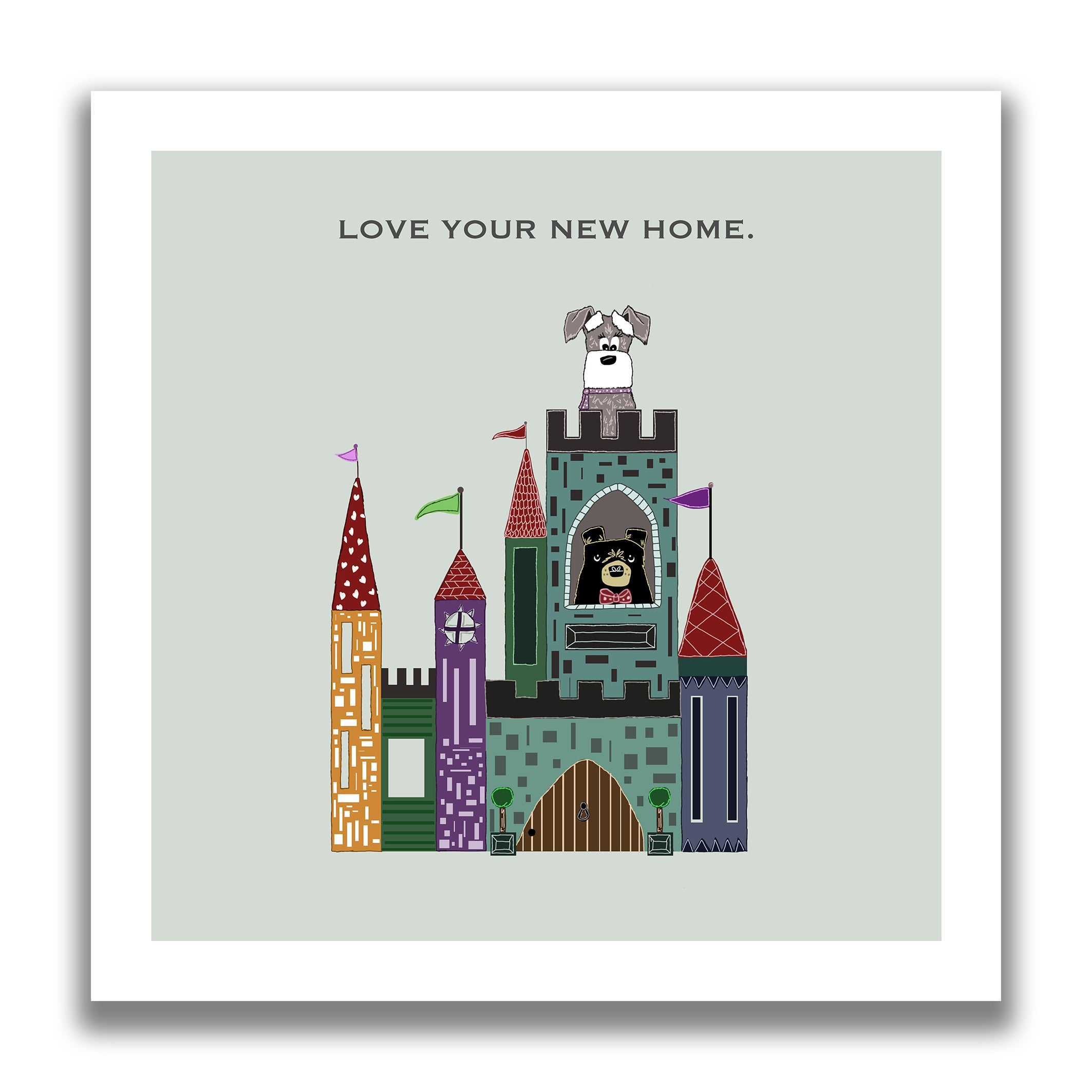 New home greeting card the grumble co kristyandbryce Image collections