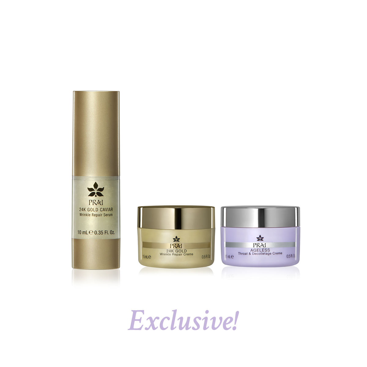 Best of PRAI Beauty Anti Aging Set - Daytime