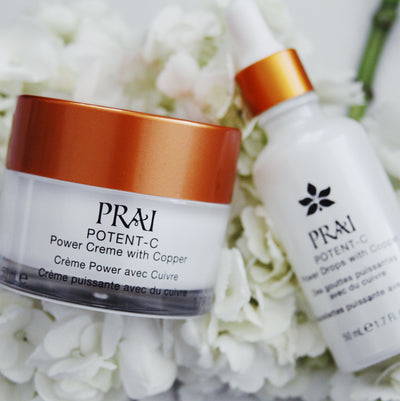 PRAI Beauty Potent-C Duo (Drops & Creme)