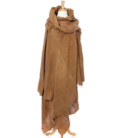Brown Ethiopian Gabi | Body Shawl