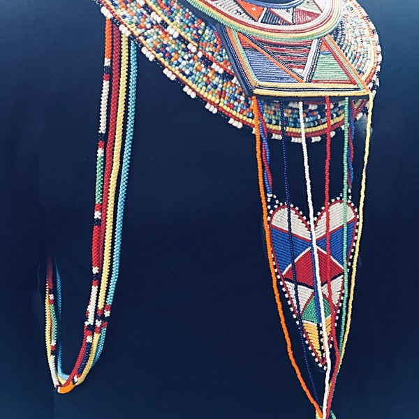Maasai Beaded Neckpiece