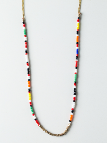 Maasai Brass Helix Necklace - Ikumba Design Studios - 1