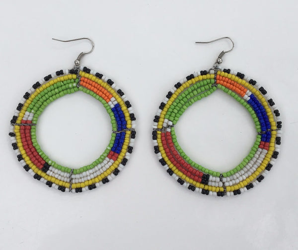 Maasai Circle Earrings