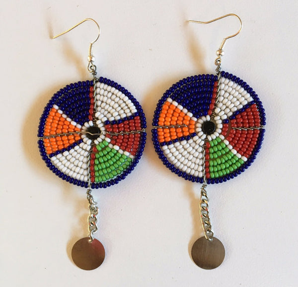 Maasai Shield Earrings